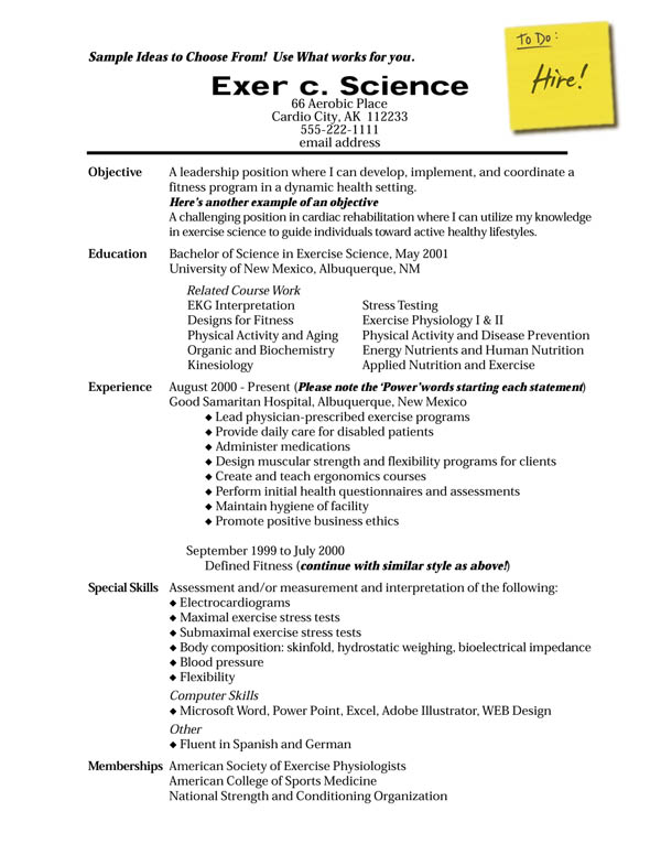 resume making opening services