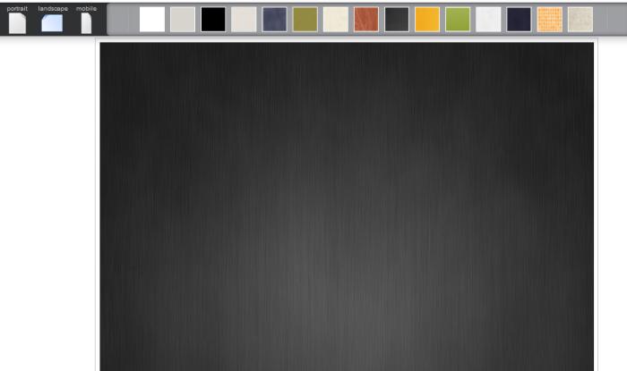 Arrière-plan de l'application d'infographie easel.ly