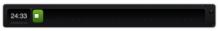 Fenêtre - minuterie électronique, base de la méthode Pomodoro de Francesco Cirillo