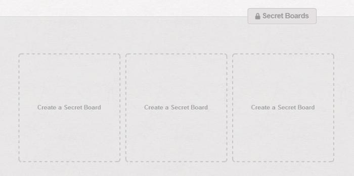 Comment créer des tableaux secrets dans le réseaux social Pinterest ?