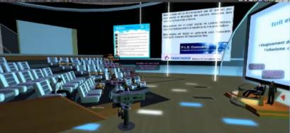 Conférence virtuelle 3D - Métalectures