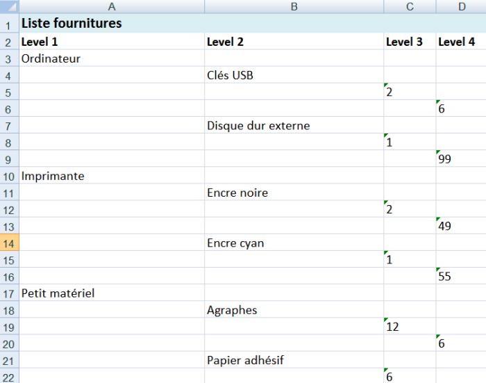 xmind  u2013 excel   exportez votre mindmap dans une feuille de calcul