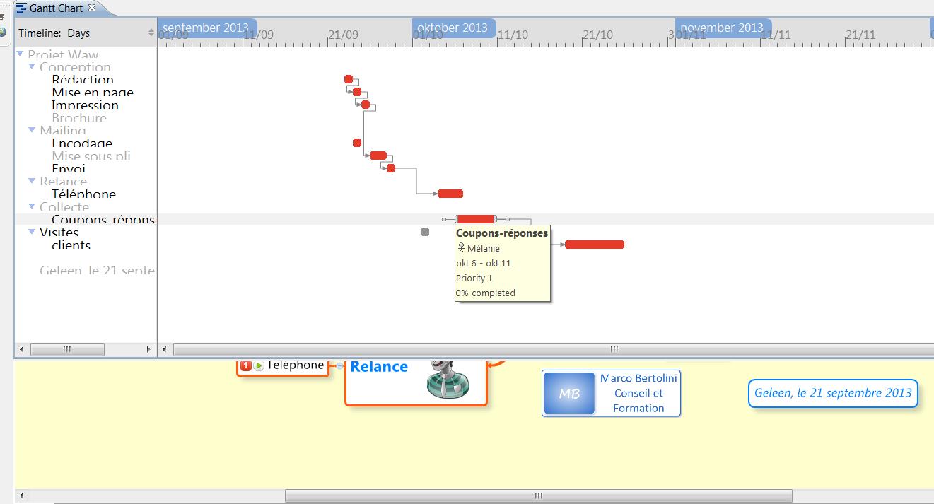Xmind en gestion de projet exportez vos tches vers excel visualisation des donnes du projet avec le diagramme de gantt inclus dans xmind 2013 ccuart Choice Image