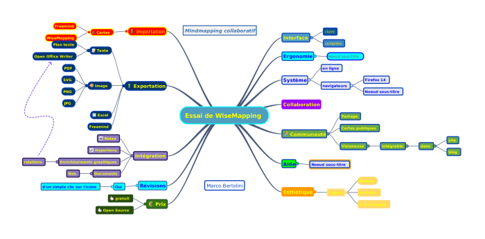 wisemapping   du mindmapping collaboratif  gratuit et open source  u2013 formation 3 0