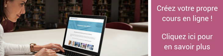 Devenez formateur ou formatrice en elearning avec notre formation Créez votre cours en ligne