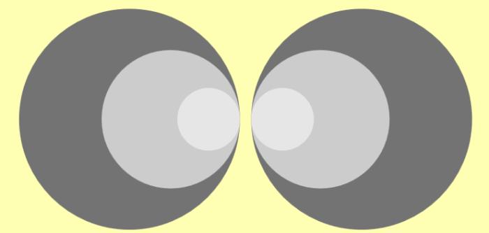 Raccourci-clavier : commande pour dupliquer des images en miroir dans une présentation Prezi