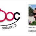 Simon Carolan, coordinateur de la saison 3 du MOOC francophone ITyPA3