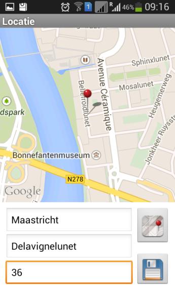 Localisation de la situation problématique sur BuitenBeter