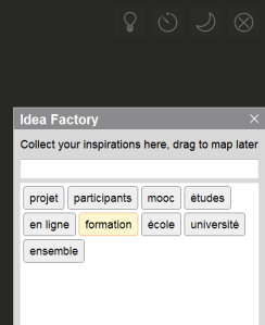 Boîte à idées ou idea factory du nouveau mode de brainstorming dans xmind 6