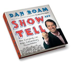 Le livre Show and Tell de Dan Roam, ou tout le monde peut créer une présentation extraordinaire avec le storytelling