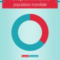 Graphique : partage inégal de l'accès à Internet dans le monde