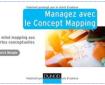 Couverture du livre Managez avec le concept mapping de Pierre Mongin
