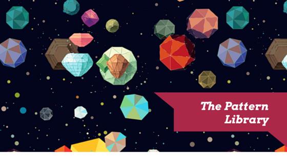 Asteroids, un motif offert par la banque The Pattern Library