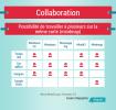 Infographie infogram : comparatif des modes de collaboration des différents logiciels de mindmapping