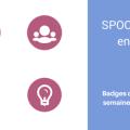 Badges délivrés aux participants du SPOC Formez en ligne de Spoc en Stock