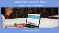 Créez votre cours en ligne, devenez formateur en e-learning avec notre spoc