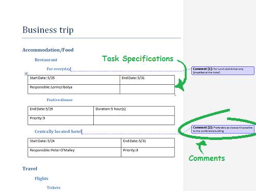 Nouvelle fonctionnalité de Mindomo : l'exportation d'informations de tâches vers Word